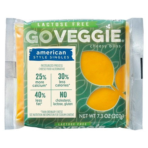 Go Veggie Lactose & Soy Free American Cheese Singles 7.3 oz - image 1 of 1