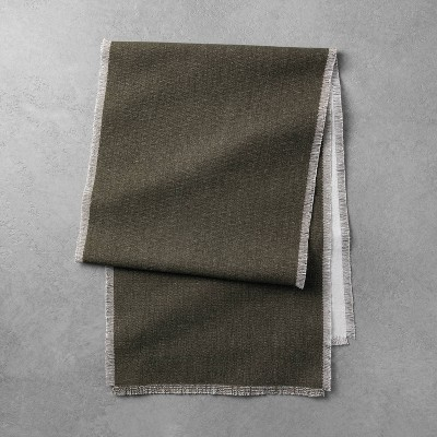 Reversible Table Runner Dark Green - Hearth & Hand™ with Magnolia