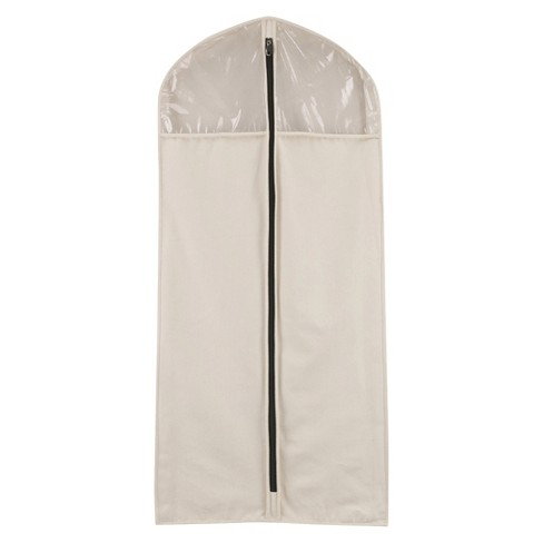 Household Essentials® Cedarline Hanging Canvas Suit/Dress Bag - image 1 of 4
