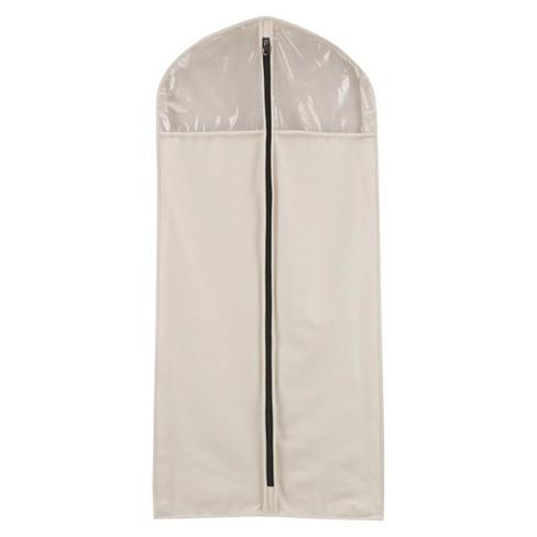 Household Essentials Cedarline Hanging Canvas Suit/Dress Bag - image 1 of 4
