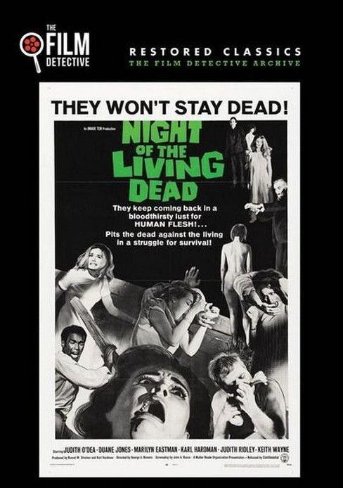 Night of the living dead (DVD) - image 1 of 1