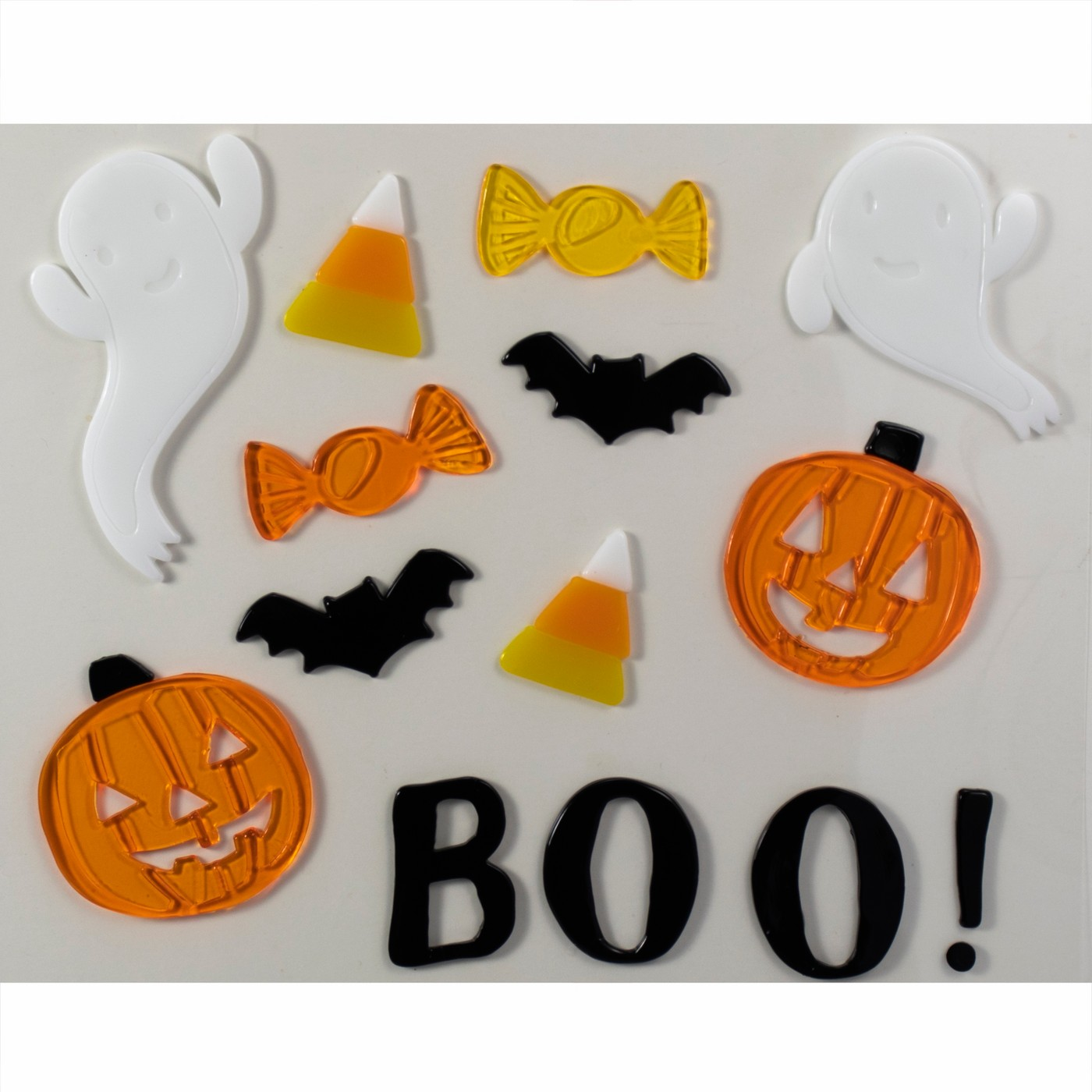 Halloween BOO Window Gel Clings - Hyde and Eek! Boutique™ - image 1 of 2