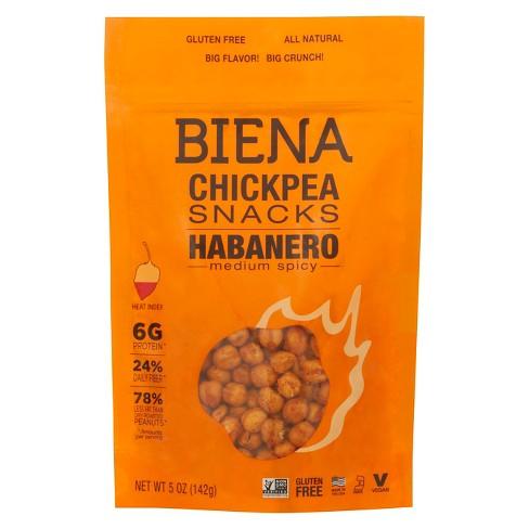 biena habanero roasted chickpeas 5oz target