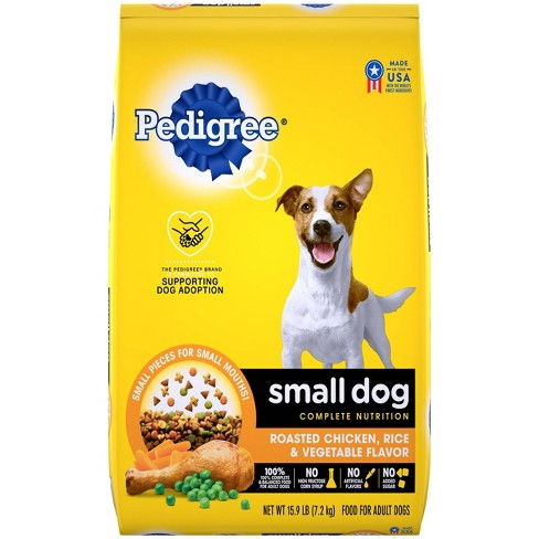 Pedigree Roasted Chicken, Rice & Vegetable Flavor Small Dog Adult Complete Nutrition Dry Dog Food - image 1 of 4