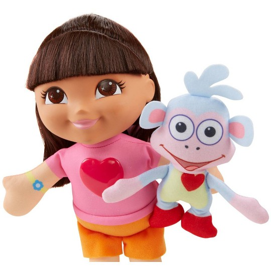 """""""Fisher-Price Nickelodeon Dora the Explorer Singing """"""""We Did It"""""""" Dora and Boots"""" image number null"""