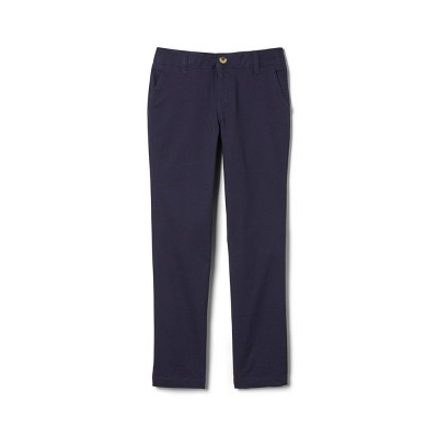 French Toast Young Womans' Uniform Chino Pants  - Navy