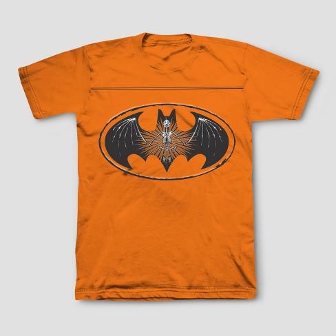 cc752dd3 Boys' Batman Short Sleeve T-Shirt - Orange M. Shop all DC Comics