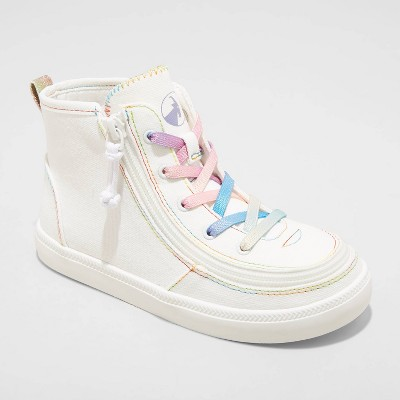 Girls' BILLY Footwear Zipper High Top Apparel Sneakers