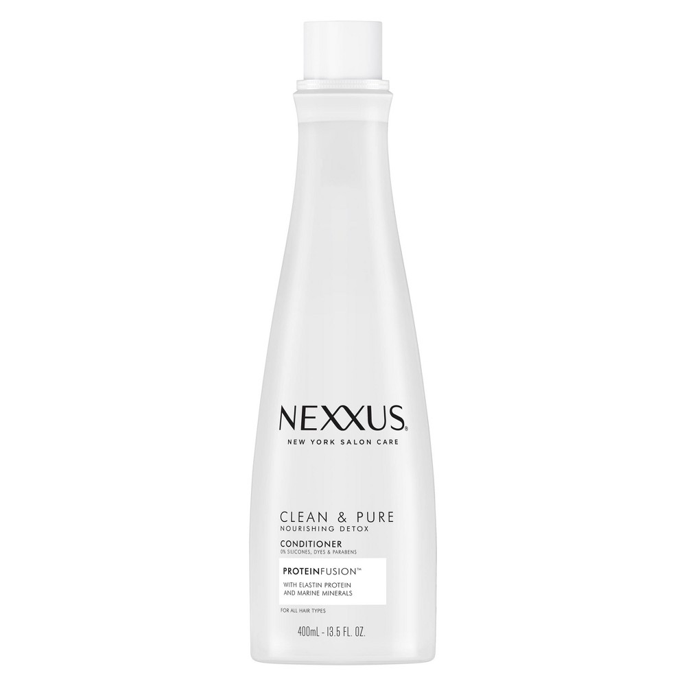 Image of Nexxus Clean & Pure Nourishing Detox Conditioner for Normal to Dry Hair - 13.5oz