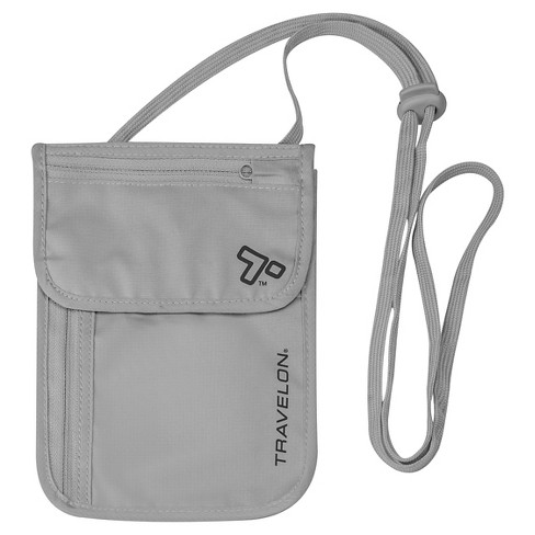 Travelon® RFID Undergarment Neck Wallet - Gray - image 1 of 3