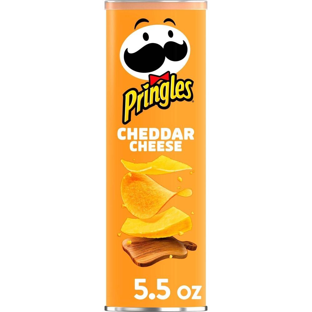 Pringles Cheddar Cheese Potato Crisps Chips 5 5oz