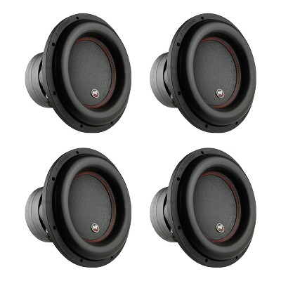 AudioPipe Sub-BDC4-12D2 12-Inch Subwoofer Dual 2 Ohm 1100 Watts RMS Car Audio (4 Pack)