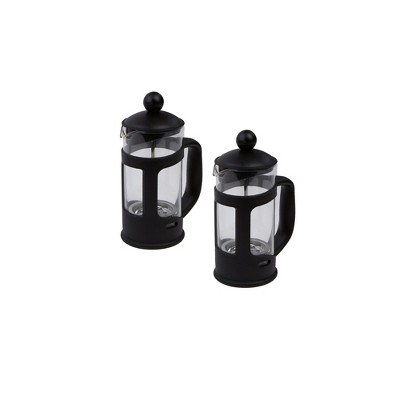 Mind Reader 2 Pack Single Serve French Press Coffee & Tea Maker