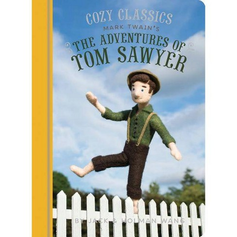 Cozy Classics: The Adventures of Tom Sawyer - by  Jack Wang & Holman Wang (Board_book) - image 1 of 1