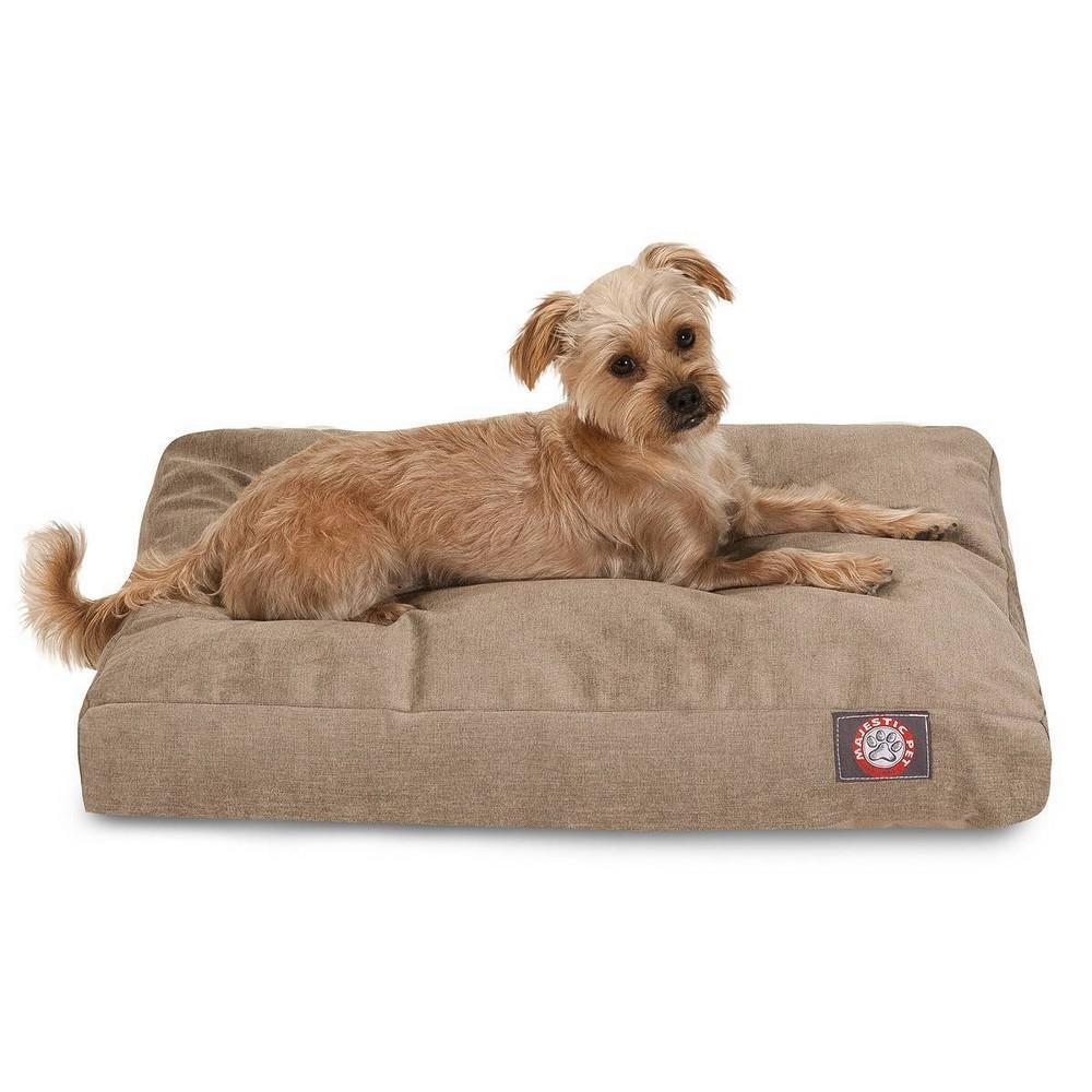 Majestic Pet Villa Collection Rectangle Dog Bed Pearl Tan Medium M