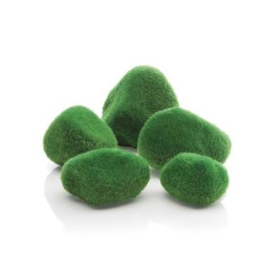 biOrb Moss Pebbles Aquarium Artificial Plants - Green