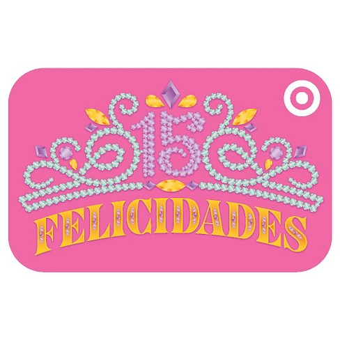 Quinceanera Giftcard