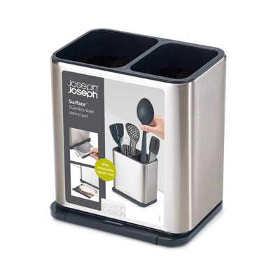 Joseph Joseph Surface Stainless-steel Utensil Pot