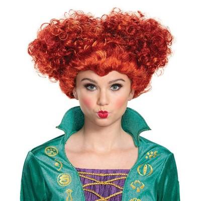 Adult Deluxe Disney Hocus Pocus Winifred Sanderson Halloween Wig