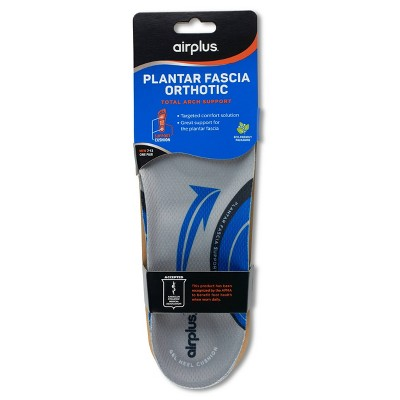 Airplus Plantar Fascia Orthotic Insole For Men