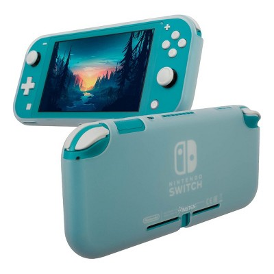 Insten Silicone Case for Nintendo Switch Lite - Shockproof Protective Cover Accessories with Smooth Grip, Clear