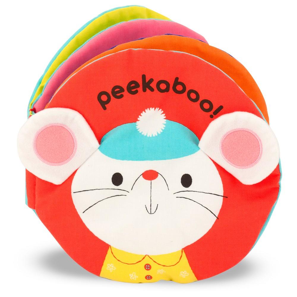 Melissa 38 Doug Soft Activity Baby Book Peekaboo