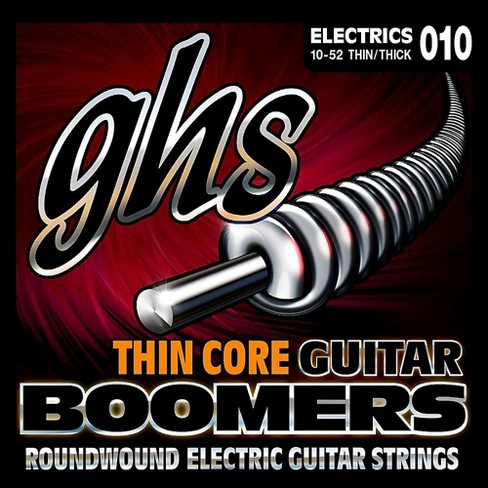 GHS TC-GBTNT Thin Core Boomers Thick N' Thin Electric Guitar Strings (10-52) - image 1 of 1