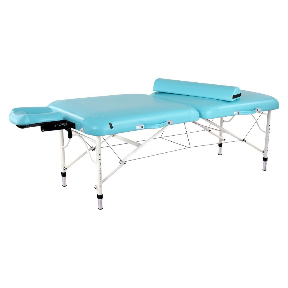 Master Massage 30 Ultra Light Calypso Portable Massage Table Package ,Surf Blue ,only 25ibs