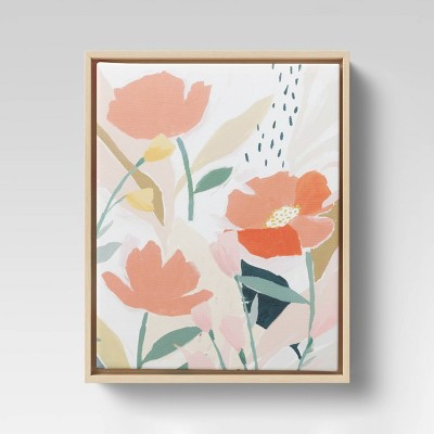 Floral Canvas Pink - Opalhouse™