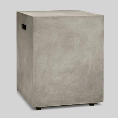 Pipestone Square Propane Tank Cover - Concrete Gray - Project 62™