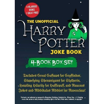 The Unofficial Harry Potter Joke Book 4-Book Box Set - by  Brian Boone (Paperback)