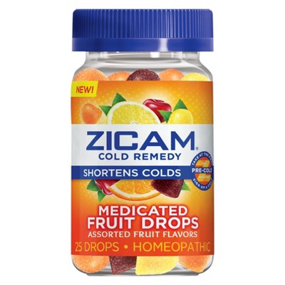 Cold & Flu: Zicam Cold Remedy Medicated Drops