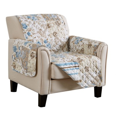 Great Bay Home Maribel Patchwork Chair Furniture Protector