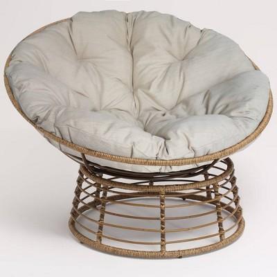 Wicker Papasan Chair - Brown - Opalhouse™