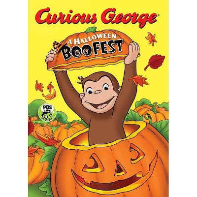 Halloween Boo Fest -  (Curious George) by H. A. Rey (Hardcover)
