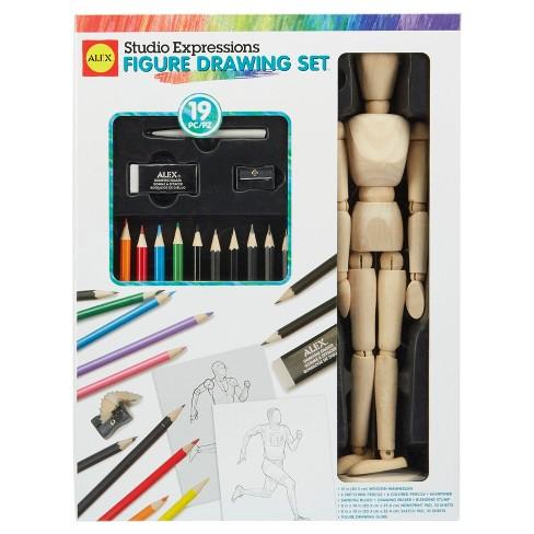 ALEX Art Studio Expressions Figure Drawing Set - image 1 of 3