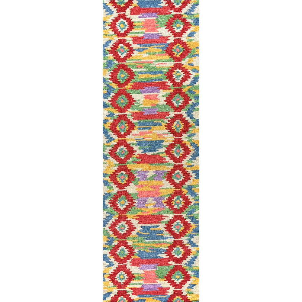 Natural Ikat Tufted Runner - (2'6x8') - Rizzy Home