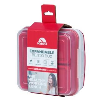 Igloo Expandable Bento Box - Red