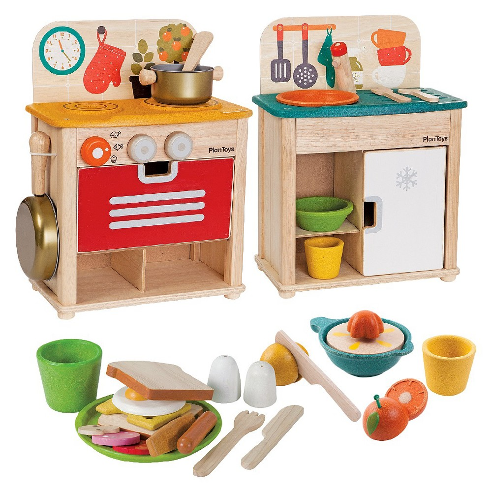 Plan Toys Kitchen Discovery Pack
