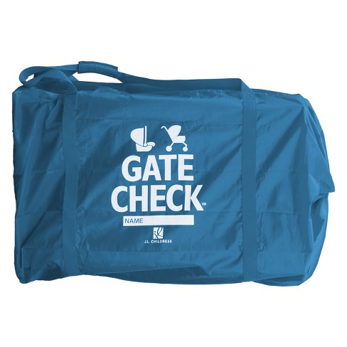 Deluxe Side Carry Gate Check Travel Bag For Car Seats Strollers