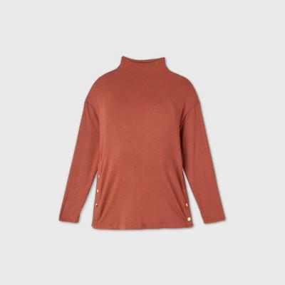 Maternity Side Snap Sweatshirt - Isabel Maternity by Ingrid & Isabel™