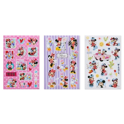 188ct Disney Minnie Mouse Stickers