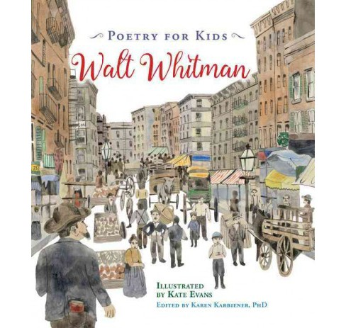 Walt Whitman -  (Poetry for Kids) (Hardcover) - image 1 of 1