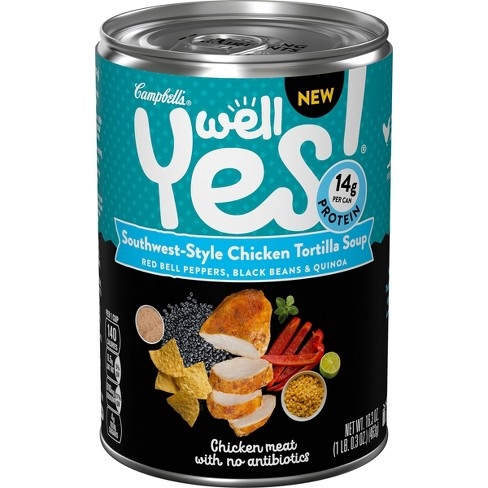 Well Yes! Southwest-Style Chicken Tortilla Soup - 16.3oz - image 1 of 4
