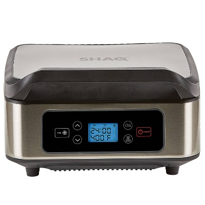 As Seen on TV Shaq Smokeless Grill and Press - Silver