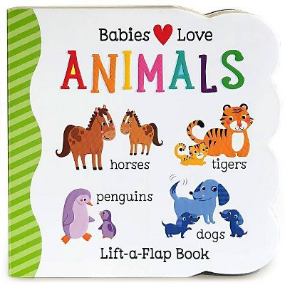 ANIMALS (Lift-a-Flap)(Board)(Scarlett Wing)