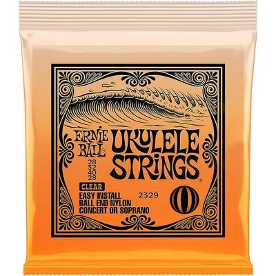 Ernie Ball Concert/Soprano Nylon Ball-End Ukulele Strings Soprano/Concert
