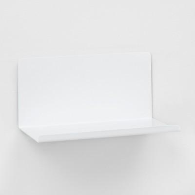 Wall Shelf Bent Metal 12 - White - Project 62™