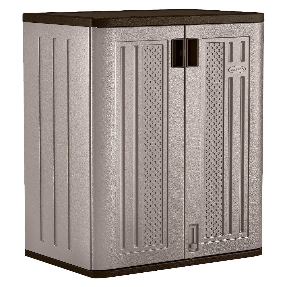 Suncast Base Utility Storage Cabinet, Gray