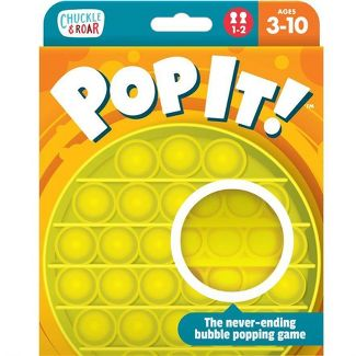 Chuckle & Roar Pop It! The Original Take Anywhere Bubble Popping Game